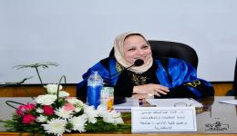 تعيين الدكتور غادة موسى مستشارًا لرئيس الجامعة لشئون المكتبات