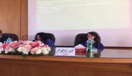 تعيين الدكتورة نجلاء أبو عجاج وكيلًا لكلية الآداب لشئون الدراسات العليا والبحوث